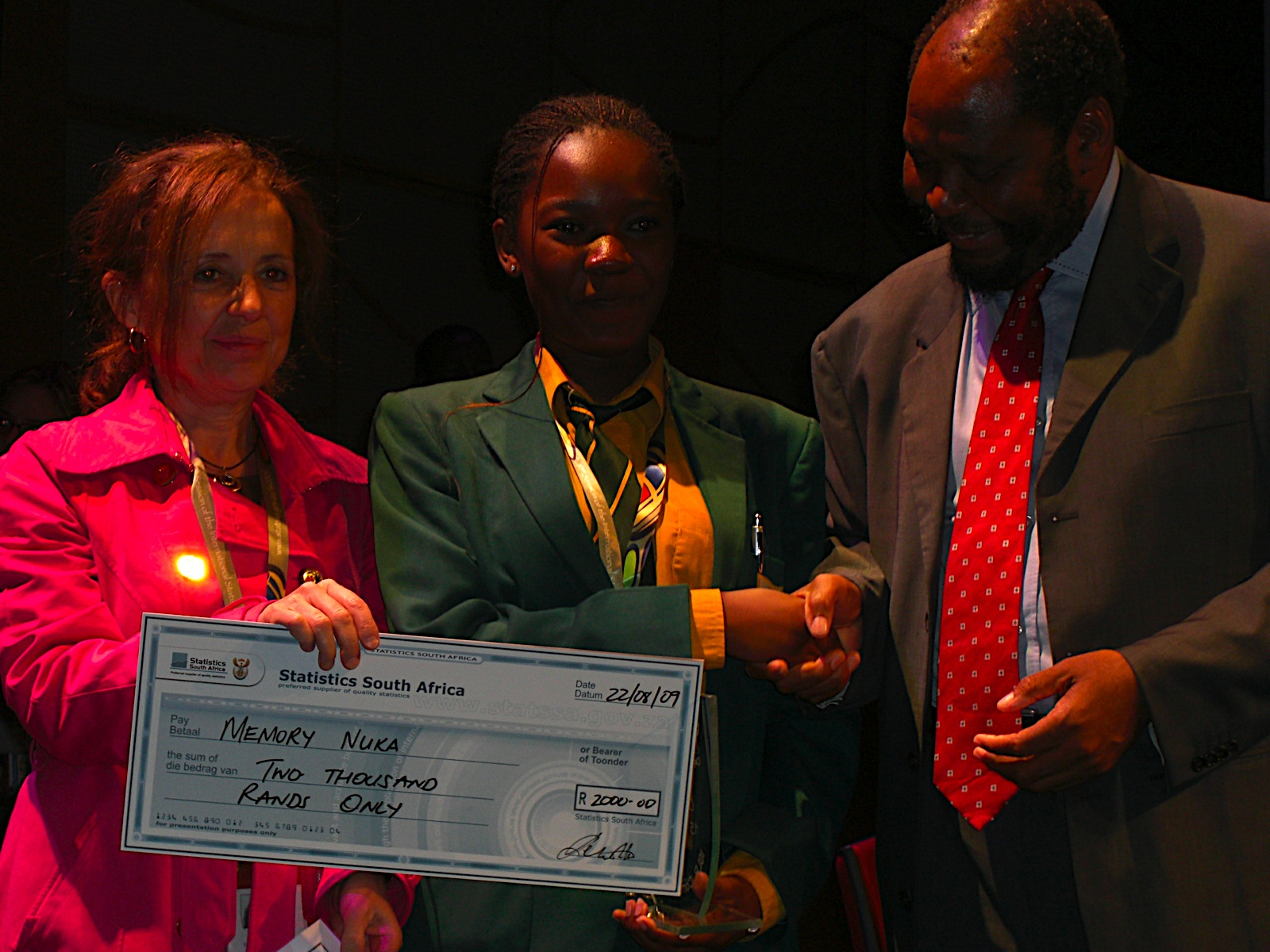 2009 International                                                 Statistical Literacy                                                 Competition.